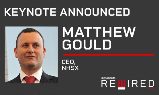 NHSX CEO Matthew Gould to be Rewired 2020 keynote