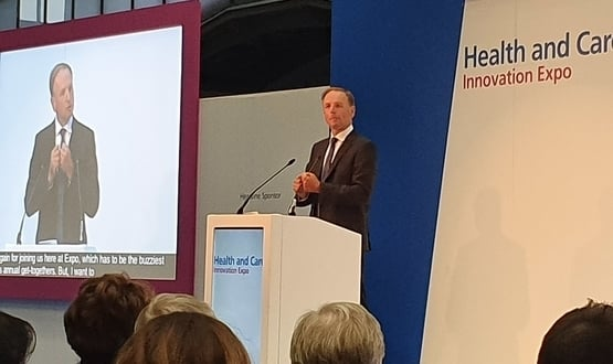 Simon Stevens calls for greater investment in diagnostics at NHS Expo